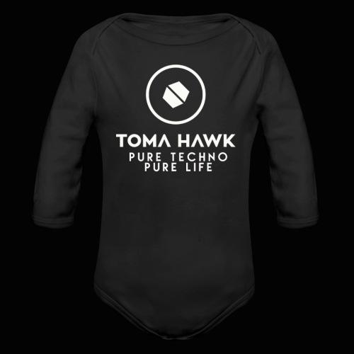 Toma Hawk - Pure Techno - Pure Life White - Baby Bio-Langarm-Body
