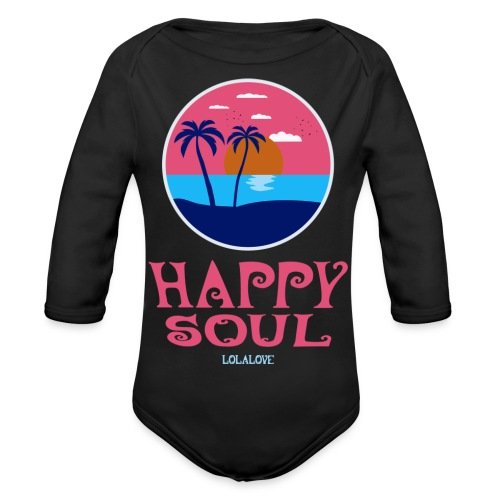 Happy Soul! - Baby Bio-Langarm-Body