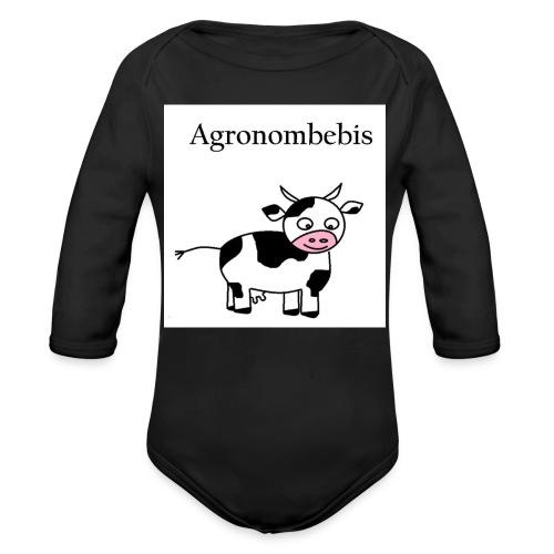 agronombebis jpg - Ekologisk långärmad babybody