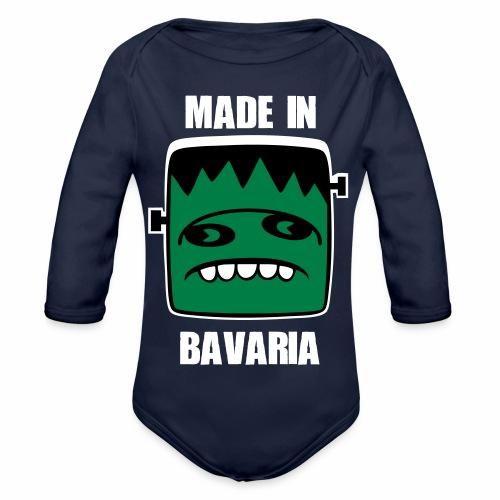 Fonster weiß made in Bavaria - Baby Bio-Langarm-Body