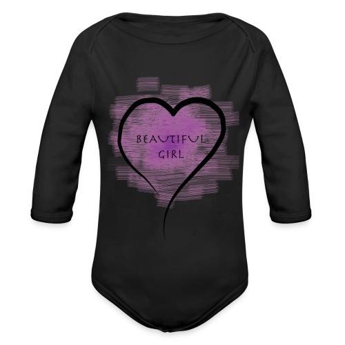 Longsleeves- Beautiful Girl - Baby Bio-Langarm-Body