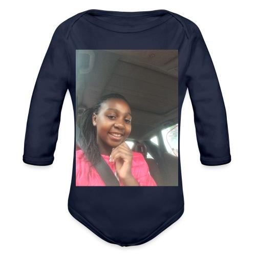 tee shirt personnalser par moi LeaFashonIndustri - Body Bébé bio manches longues