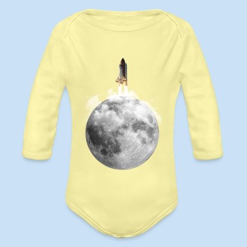 Mondrakete - Baby Bio-Langarm-Body
