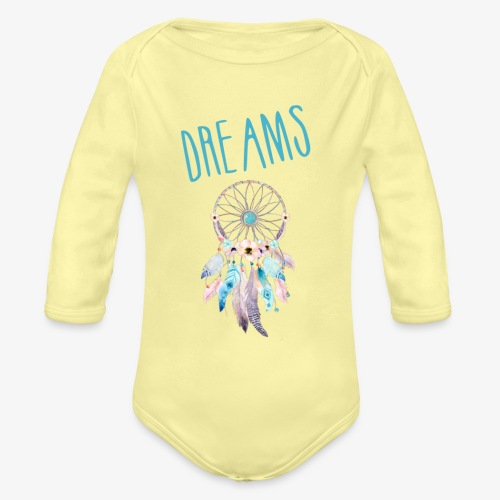Dreams - Body ecologico per neonato a manica lunga