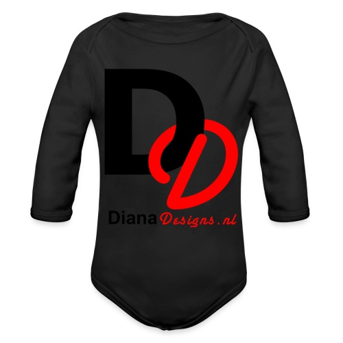 logo_diana_designs-nl - Baby bio-rompertje met lange mouwen