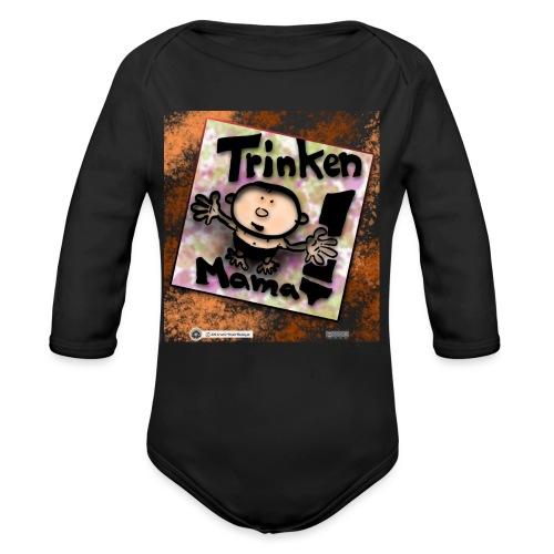 Design Baby Trinken Mama - Baby Bio-Langarm-Body