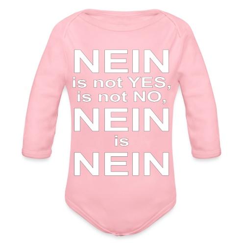 NEIN! - Organic Longsleeve Baby Bodysuit