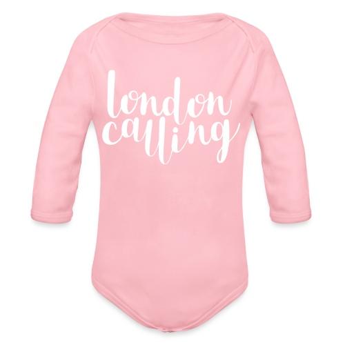 London Calling - Baby Bio-Langarm-Body