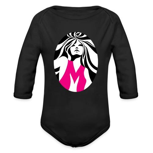Mélody logo - Body Bébé bio manches longues