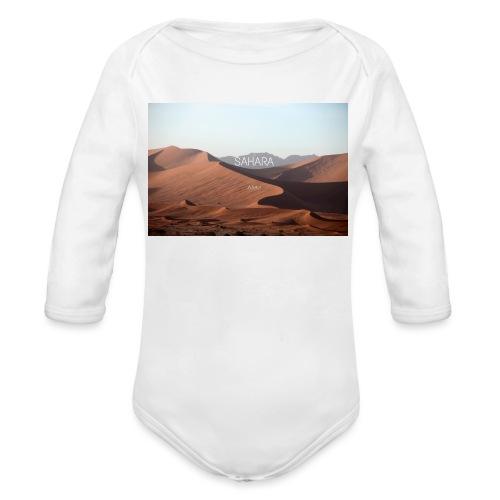 Sahara - Organic Longsleeve Baby Bodysuit