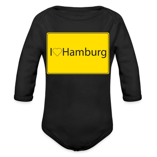 I love hamburg - Baby Bio-Langarm-Body