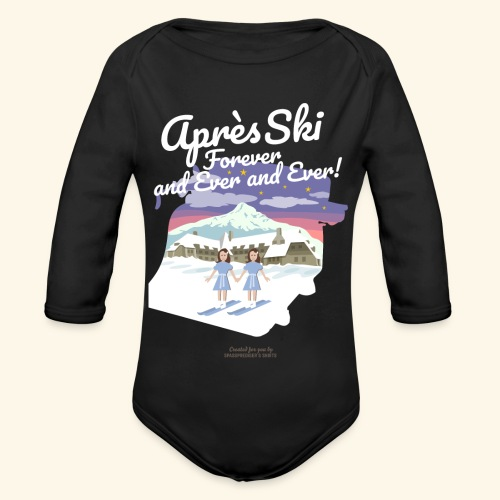 Apres Ski Forever - Baby Bio-Langarm-Body