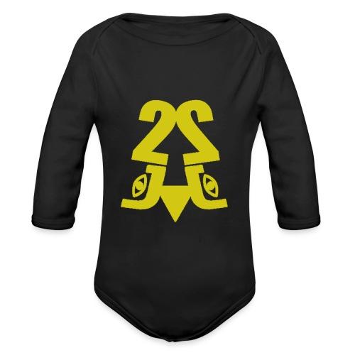 2J_GOLD - Langærmet babybody, økologisk bomuld