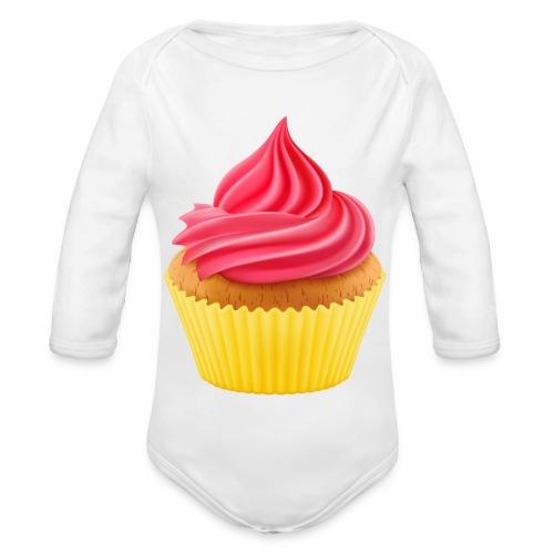 Cupcake - Baby Bio-Langarm-Body