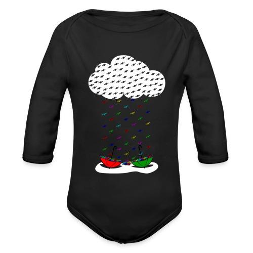 Sweet rain - Body orgánico de manga larga para bebé