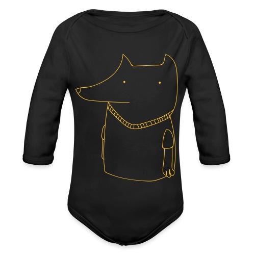 FoxShirt - Organic Longsleeve Baby Bodysuit