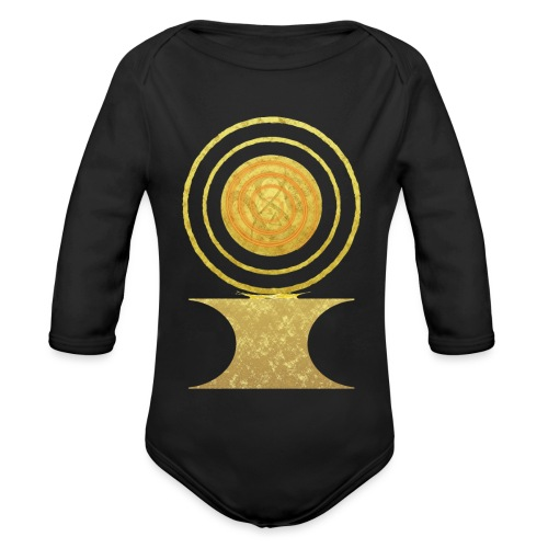 Native America Indianer Symbol Hopi ssl Sonne - Baby Bio-Langarm-Body
