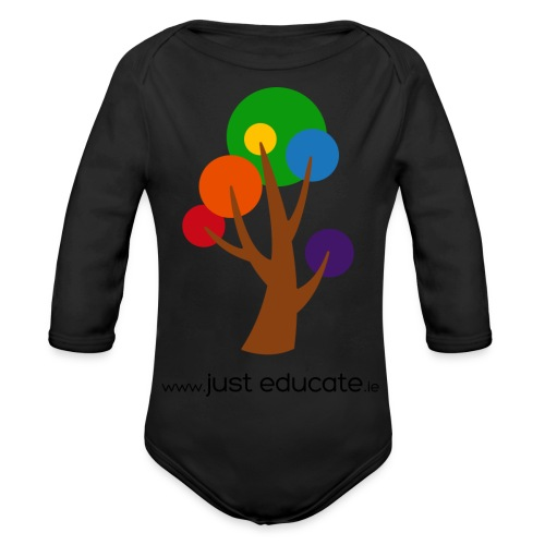 Just Educate.ie - Organic Longsleeve Baby Bodysuit