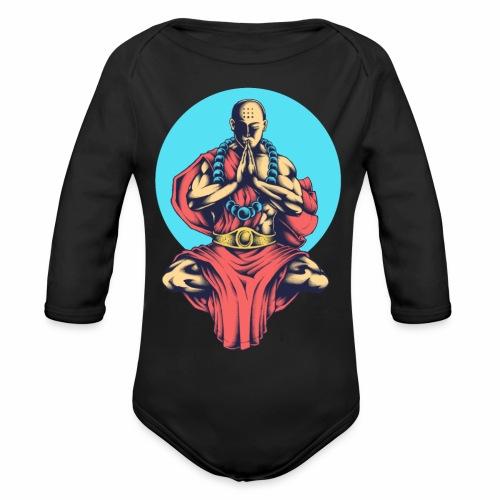 Inner Peace Inner Peace Gift Idea - Organic Longsleeve Baby Bodysuit
