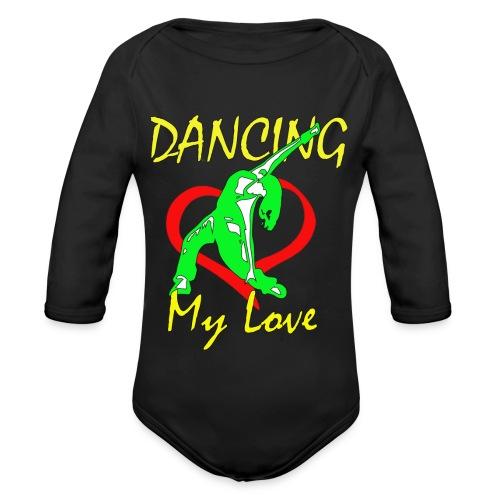 Dancing my Love - Baby Bio-Langarm-Body