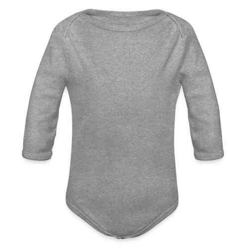 1511989772409 - Organic Longsleeve Baby Bodysuit