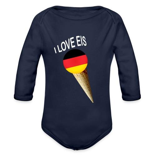 Fußball WM Geschenk Fan Weltmeister Deutschland - Baby Bio-Langarm-Body