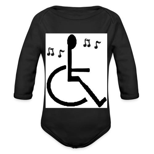 Musical Chairs - Organic Longsleeve Baby Bodysuit