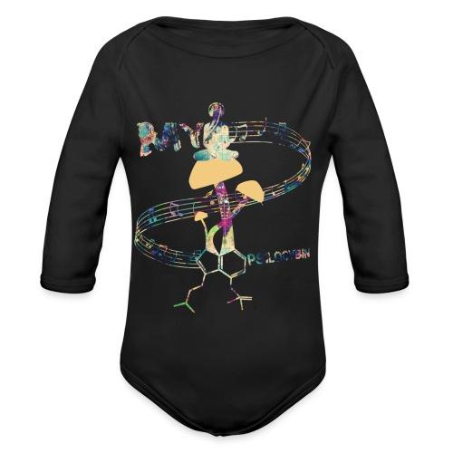 My Psilocybin (Light) - Ekologisk långärmad babybody