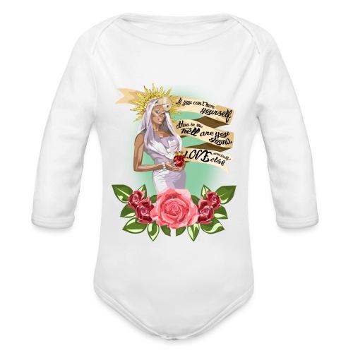 Mama RuPaul - Body orgánico de manga larga para bebé