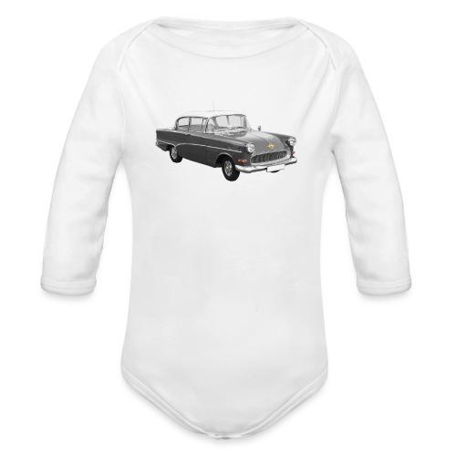 Classic Car Record - Baby bio-rompertje met lange mouwen