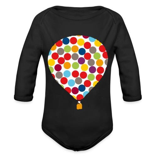 InklusionsBallon - Baby Bio-Langarm-Body