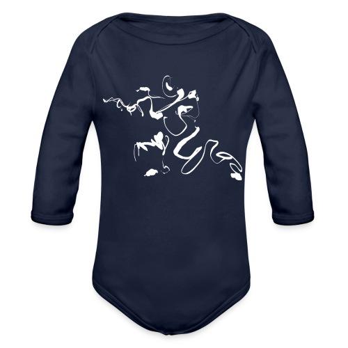 Kungfu - Deepstance Kung-fu figure - Organic Longsleeve Baby Bodysuit