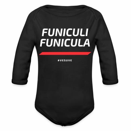 Funicula Funicula - Body Bébé bio manches longues