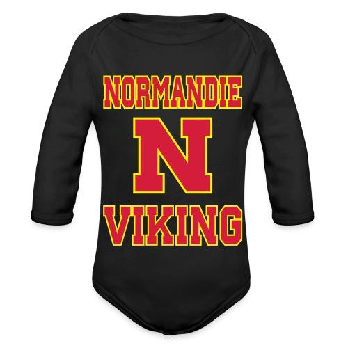 Normandie Viking - Body Bébé bio manches longues
