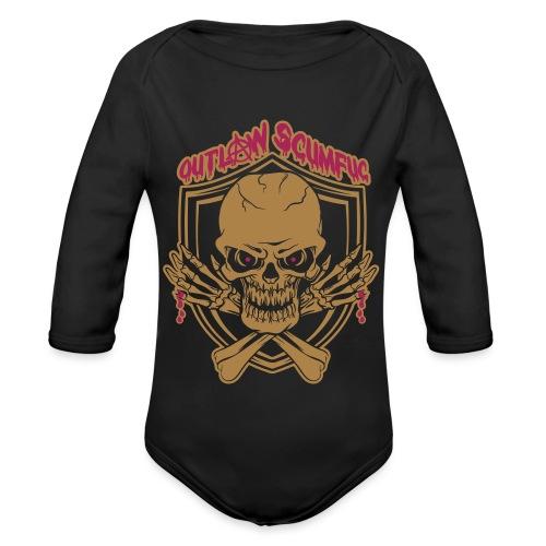 Outlaw Scumfuc - Baby Bio-Langarm-Body