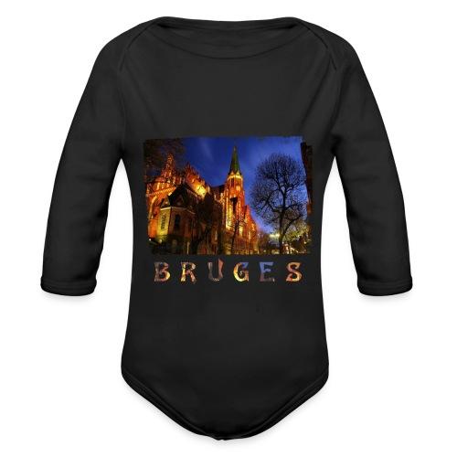 Bruges | By Night - Baby bio-rompertje met lange mouwen