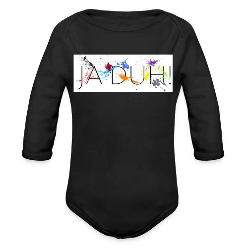 Ja Duh! Merchandise Mula B Meesterplusser - Baby bio-rompertje met lange mouwen