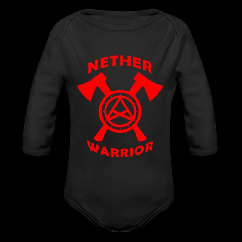 Nether Warrior T-shirt - Body ecologico per neonato a manica lunga
