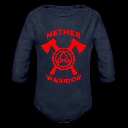 Nether Warrior T-shirt - Body ecologico per neonato a manica lunga