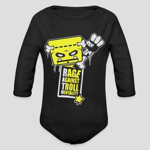 Rage against Trolls - Body Bébé bio manches longues