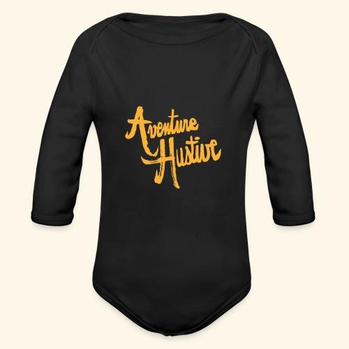 AventureHUstive - Body Bébé bio manches longues