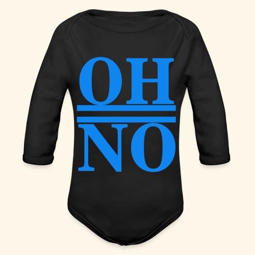 Oh no - Body ecologico per neonato a manica lunga