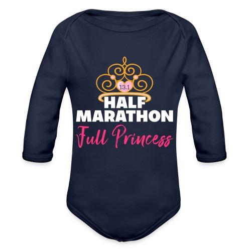HALF MARATHON Full Princess - Baby Bio-Langarm-Body