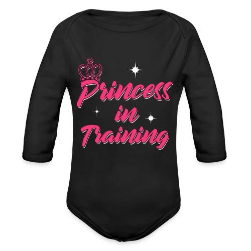 Princess In Training - Baby Bio-Langarm-Body