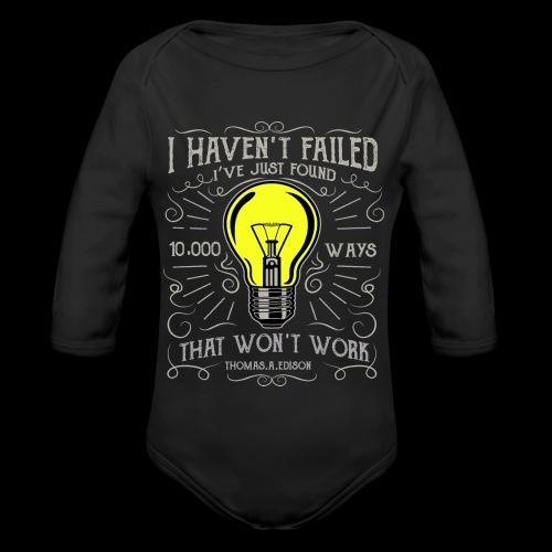 I haven't failed - Baby Bio-Langarm-Body