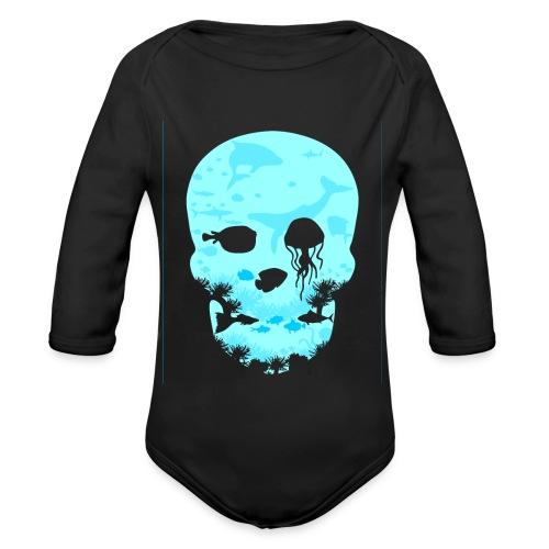 Dead Sea Tshirt ✅ - Baby Bio-Langarm-Body