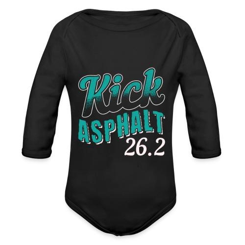 Kick Asphalt 26.2 | Full Marathon - Baby Bio-Langarm-Body