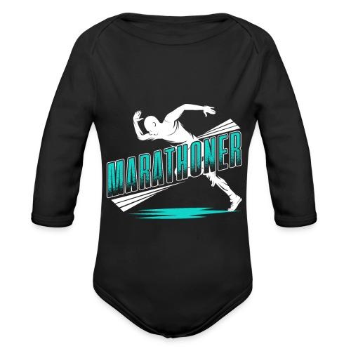 Marathoner - Baby Bio-Langarm-Body