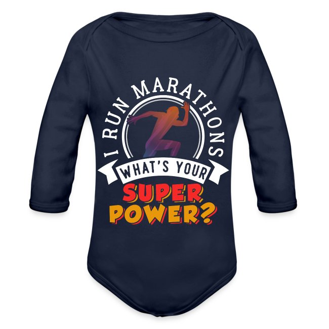 Running Marathons Super Power
