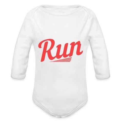 I Just Want To Run | Marathon - Baby Bio-Langarm-Body